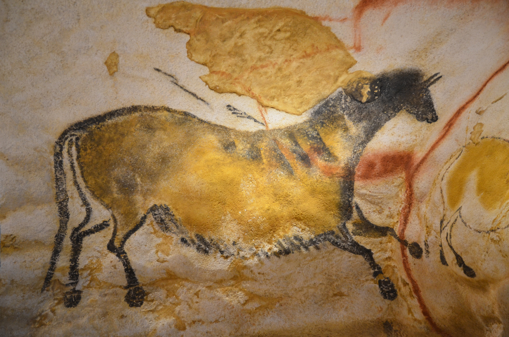 Image of a Lascaux cave painting featuring a horse - one of the oldest and most famous animal paintings in the world.