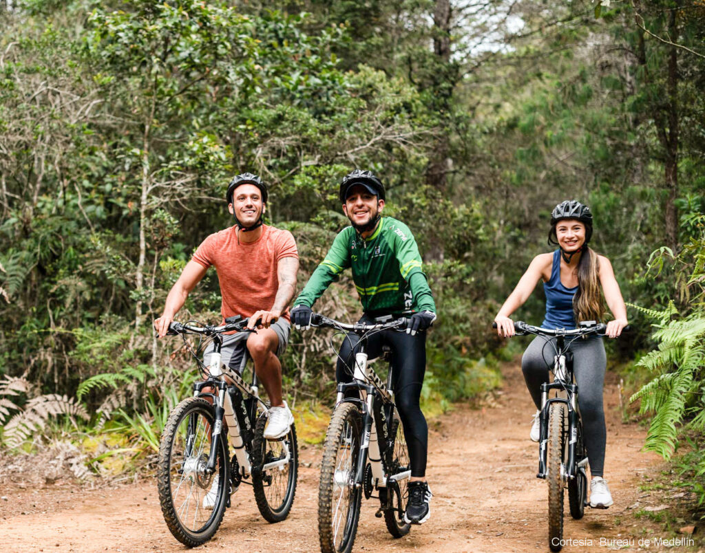 What to do in Medellín. Hike or bike at Parque Arvi