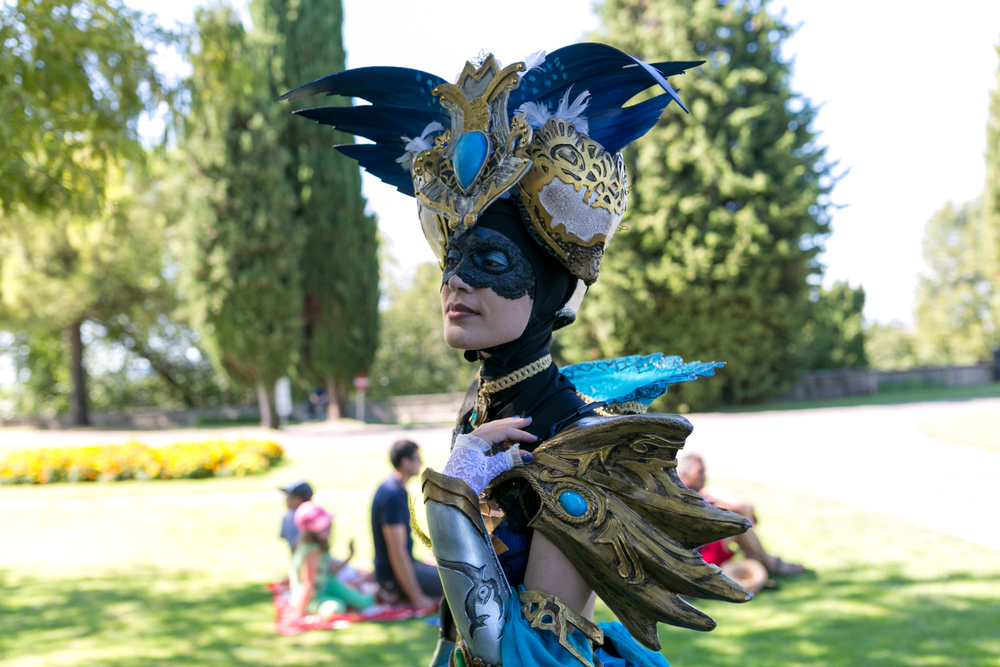 Cosplay events at the most beautiful Italian Garden? Why not!
