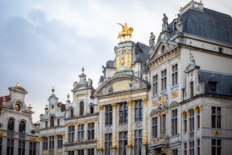 When visiting Brussels the Grand Place is a beautiful square to see.