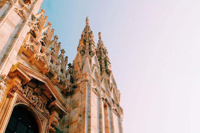 The Duomo, a famous Milan landmark.