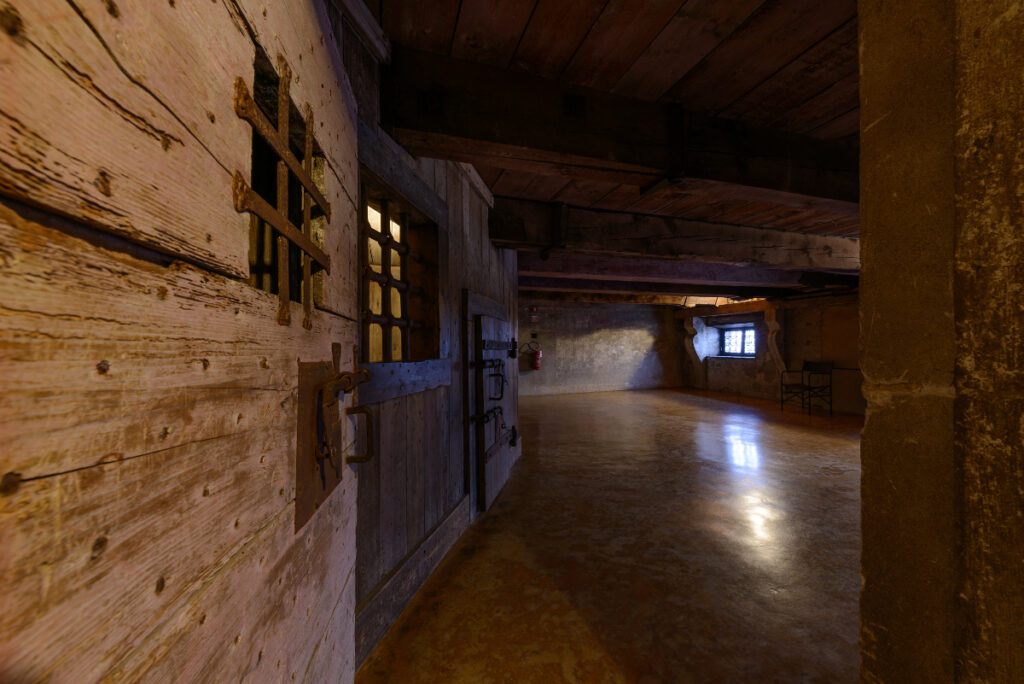 The infamous 'piombi', the cells at the Doge's Palace in Venice where Casanova was imprisoned.