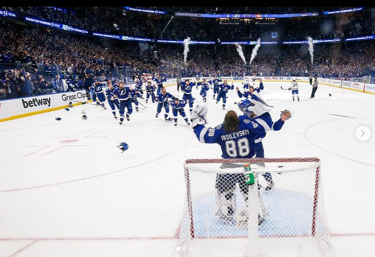 Scenes as the Tampa Bay Lightning secure their second straight Stanley Cup