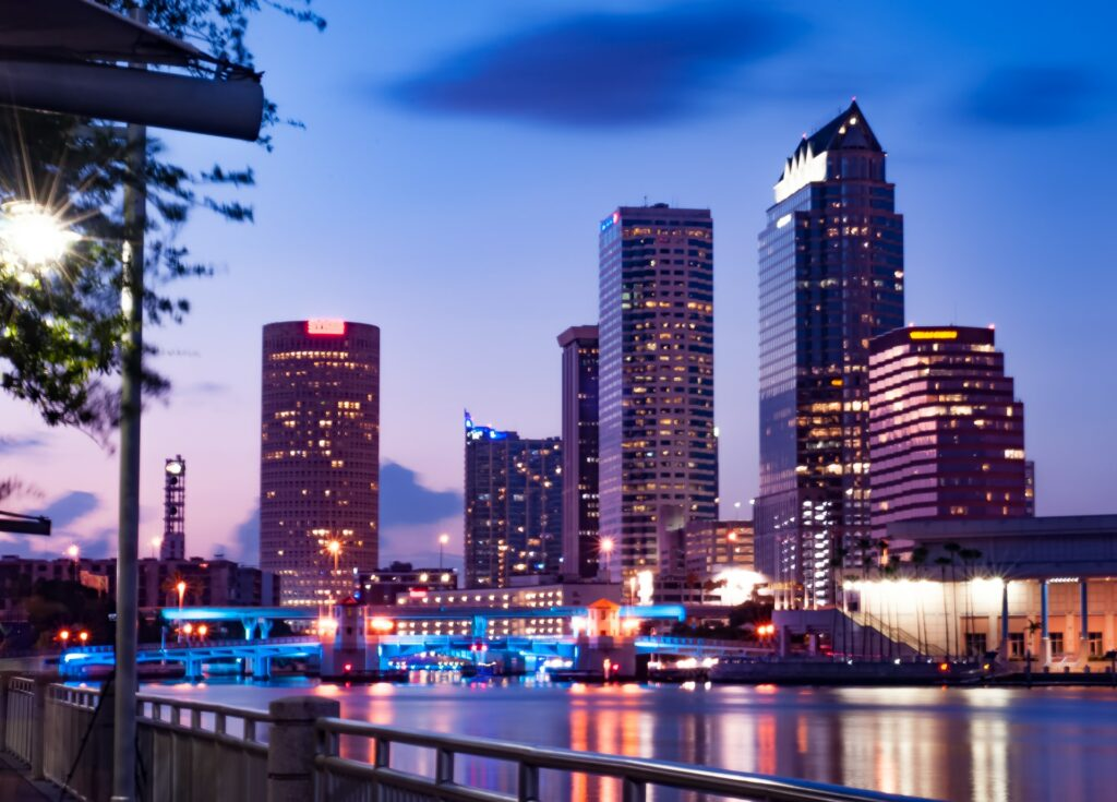 High-rise buildings in Tampa