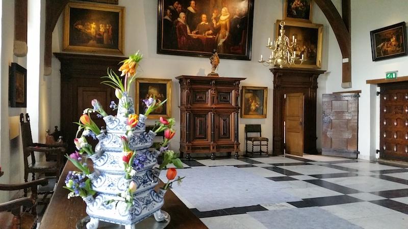 Inside Muiderslot Castle
