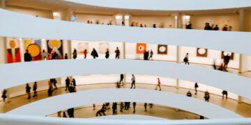 Inside view of the Guggenheim Museum